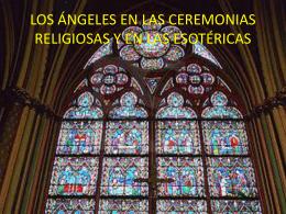 los ángeles en las ceremonias religiosas y en las esotéricas