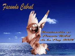 Mensaje Facundo Cabral