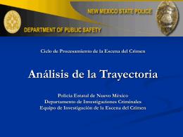 ANALISIS DE TRAYECTORIAS 2 POLICIA