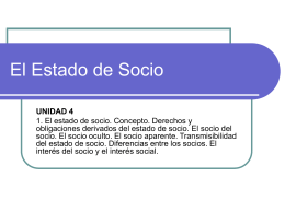 El Estado de Socio