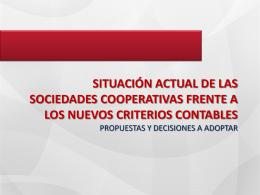 La reforma contable de las cooperativas (documento