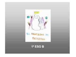 Un fantasma en el instituto (Día del libro 2013)