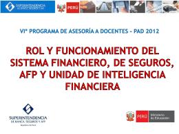Módulo 7 Unidad de Inteligencia Financiera