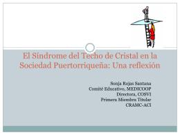 El Síndrome del Techo de Cristal en la Sociedad Puertorriqueña