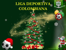 liga deportiva colombiana liga deportiva colombiana