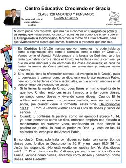 128 ANDANDO Y PENSANDO COMO DIOSES