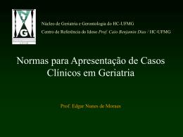 Apresentação de Casos Clínicos em Geriatria