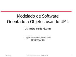 Desarrollo de Software OO usando UML