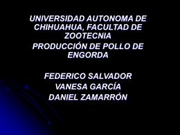 manejo de pollos de engorda - Universidad Autónoma de Chihuahua