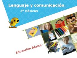 Lenguaje y comunicación - Colegio Hispano Americano