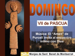 Domingo 6 de Pascua A I ppt
