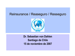 Objetivo de la IAIS sobre reconocimiento mutuo