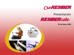 RESIBERsale - Iberia Web Sistemas