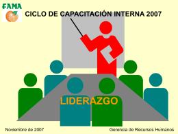 CURSO DE SUPERVISIÓN EFECTIVA