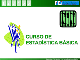Curso de Estadística Básica