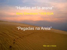 """""""Huellas en la arena"""""""