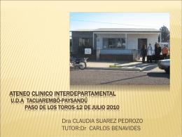 Diapositiva 1 - Página de los Residentes de Medicina Familiar y