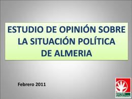 Encuesta del Partido Andalucista