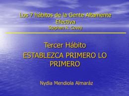 Tercer Habito, Nydia Mendiola A, 2005-2