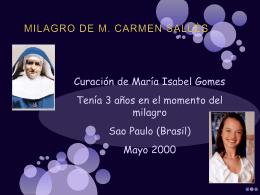 milagro M Carmen