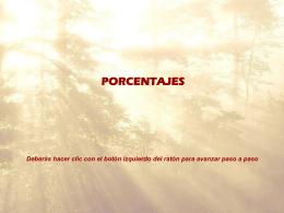 Porcentajes (PowerPoint)
