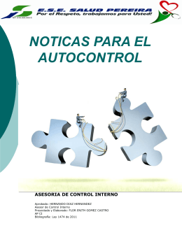 Noticias para el Autocontrol