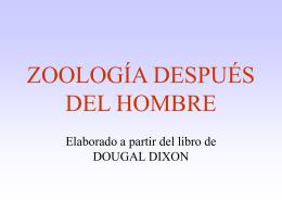 ZOOLOGÍA DESPUÉS DEL HOMBRE