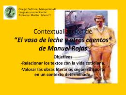 Contextualización de - Blog de Lenguaje y Comunicación
