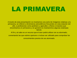 primavera - WordPress.com