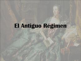 El Antiguo Régimen - IES Villa de Firgas