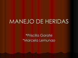 MANEJO DE HERIDAS