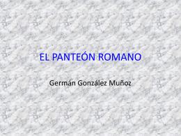 EL PANTEÓN ROMANO