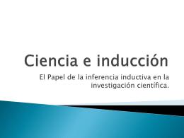 Ciencia e inducción