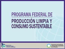 Como aplico P +L - Secretaria de Ambiente y Desarrollo Sustentable