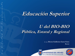 Educacion Superior - UBB - Universidad del Bío-Bío