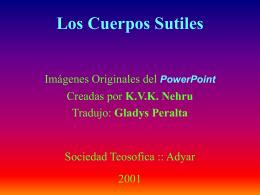 Los Cuerpos Sutiles - sociedad teosófica en uruguay
