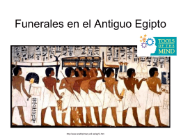 Ancient Egyptian Funerals
