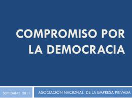 Proyecto ENADE 2012 - Asociación nacional de empresa privada