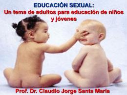 sexualidad - Instituto Superior de Ciencias de la Salud