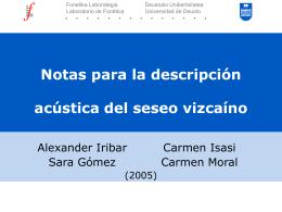 2005_seseo_IIICFE - Universidad de Deusto