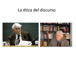 La ética del discurso