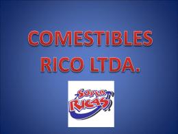 Comestibles Ricos Ltda