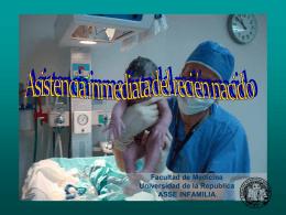 Asistencia del recién nacido