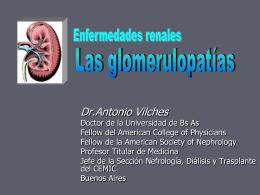 Sintomas y signos de presentacion de las enfermedades glomerulares