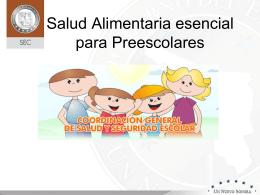 Salud Alimentaria esencial para Preescolar (1)