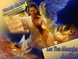 Los Tres mensajes Angélicos