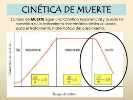 Cinética de Muerte