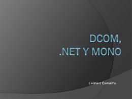 DCom, .NET y MONO