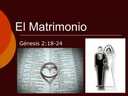 El Matrimonio - EstudiosdelaBiblia