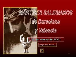 Mártires salesianos de Barcelona y Valencia